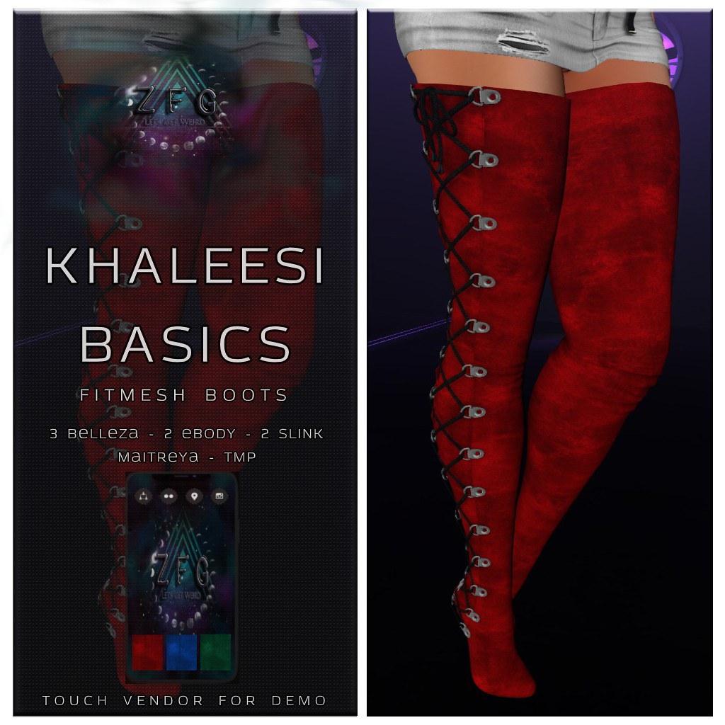 {zfg} khaleesi basics