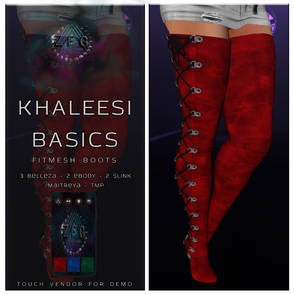 {zfg} khaleesi basics - TeleportHub.com Live!