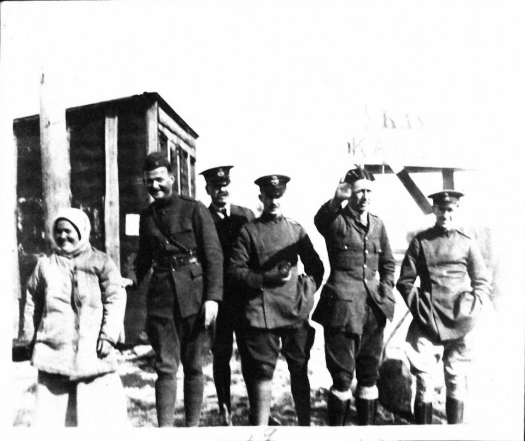 18. Союзные войска в Кандалакше