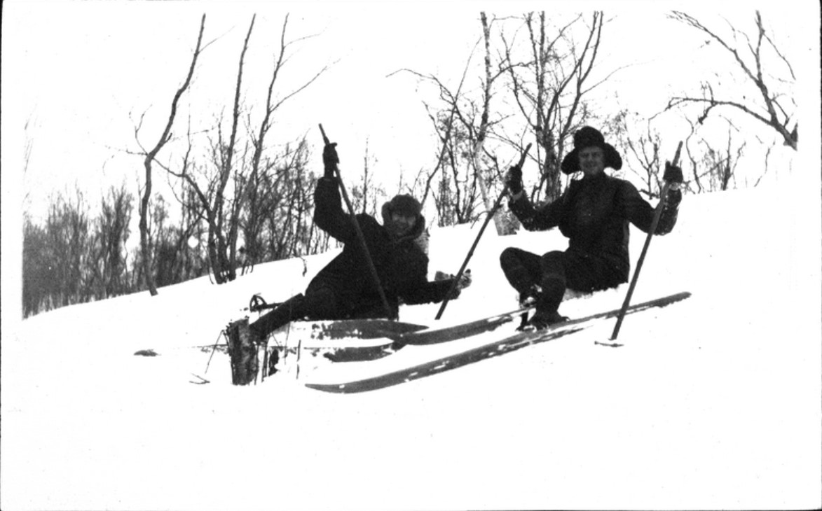 13. Любители на лыжах
