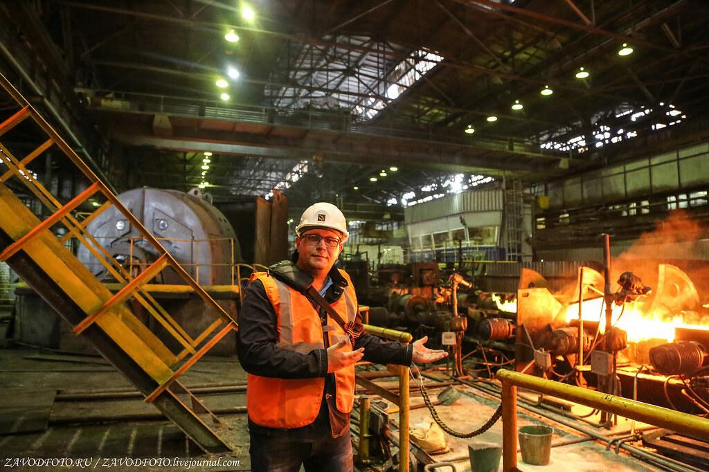 Великие заводы России: Синарский трубный завод