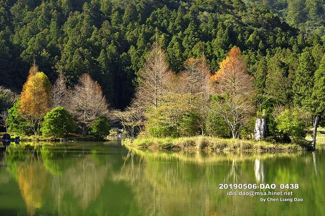 20190506-DAO_0438 秋天森林湖景的顏色