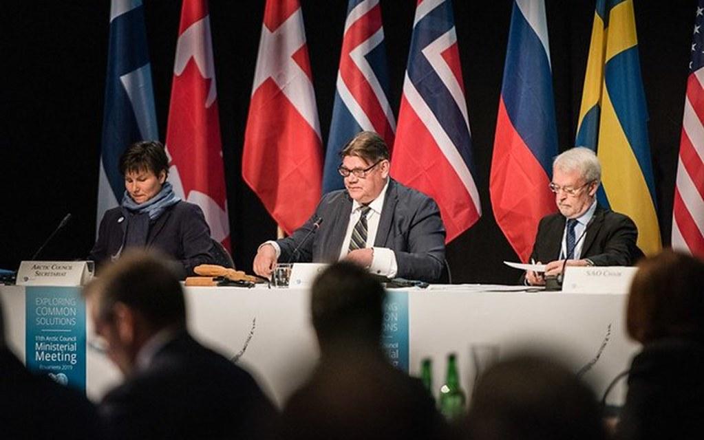 2019年北極理事會外交部長會議。圖片來源:Arctic Council