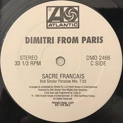 DIMITRI FROM PARIS:SACRE FRANCAIS(LABEL SIDE-C)