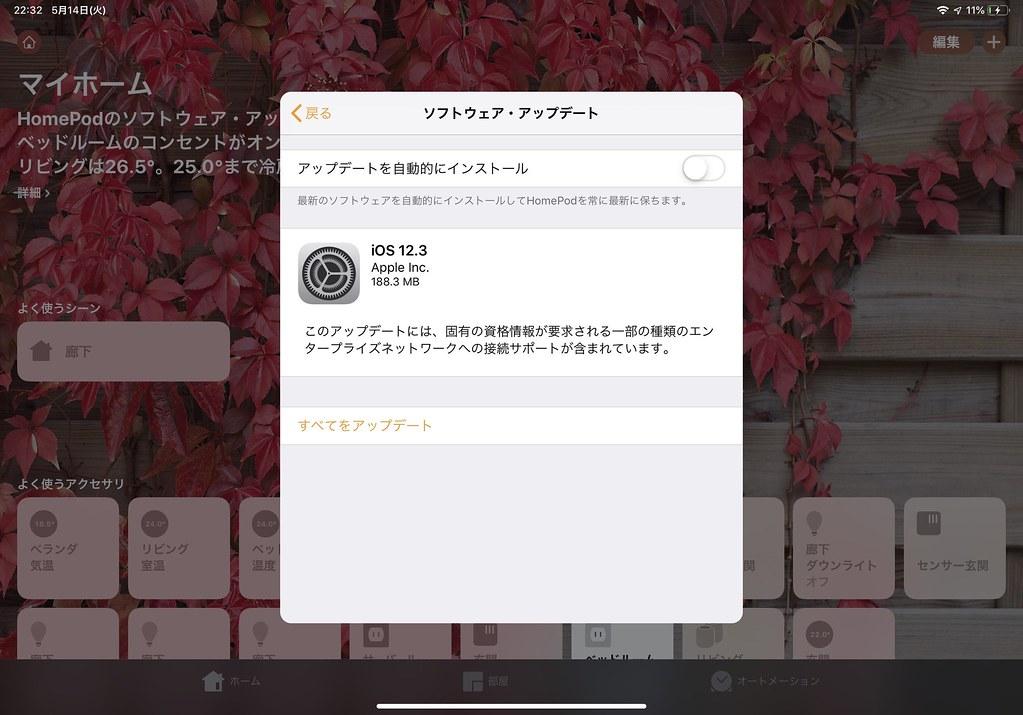 HomePod 12.3 Update