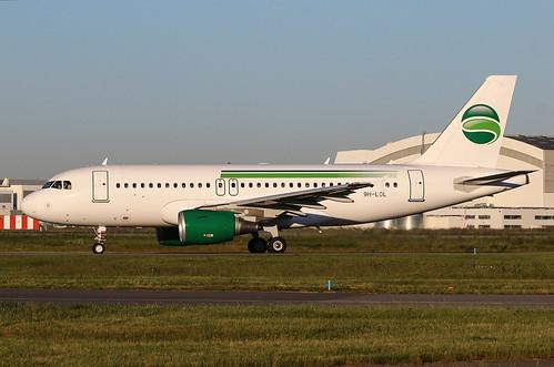 9H-LOL Airbus A319 Hi Fly Malta | by @Eurospot
