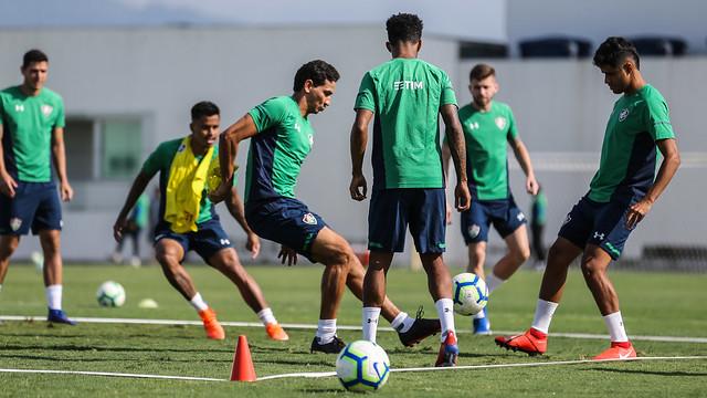 Treino do Fluminense - 14/05/2019