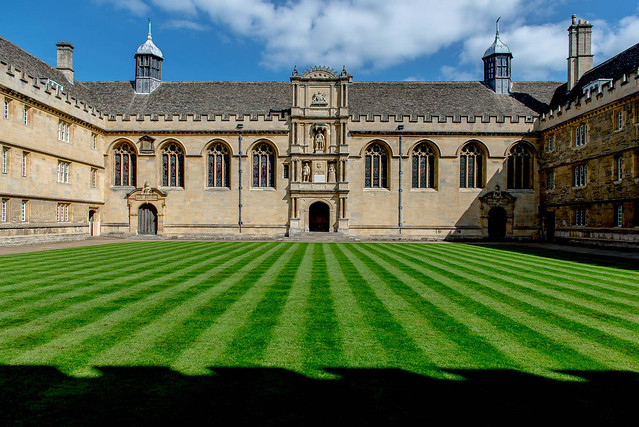 Stripes at Wadham College, Oxford University