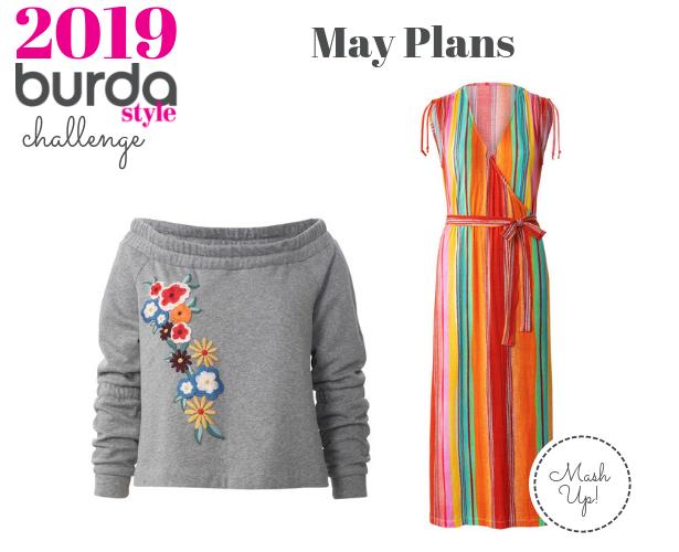 Burda Challenge Apr 2019 May plans