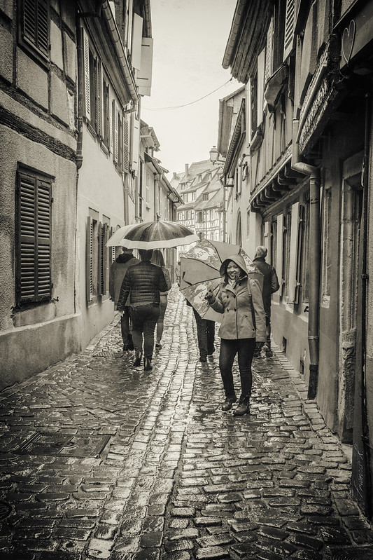 Balade sous la pluie à Colmar (ride in the rain in Colmar)