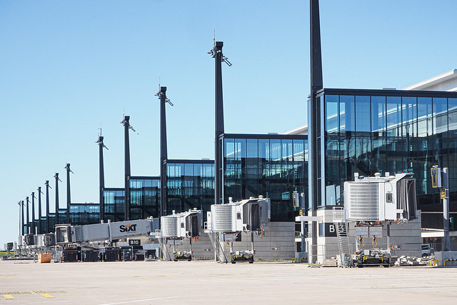 New BER Terminal - Passenger Boarding Bridges