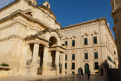 St Catherine of Italy / Auberge d'Italie, Valletta.
