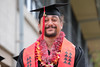 """UH West Oahu graduate beams after the ceremony. The University of Hawaii–West Oahu held spring commencement on May 4, 2019 at the Lower Courtyard. View more photos on the UH West Oahu Flickr site at: <a href=""""https://www.flickr.com/photos/uhwestoahu/albums/72157678118707327"""">www.flickr.com/photos/uhwestoahu/albums/72157678118707327</a>"""