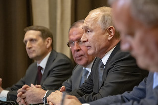 Secretary Pompeo Meets With Russian President Putin