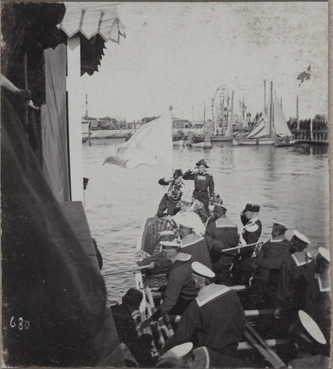 1896. Прибытие Императора Николая II в Копенгаген