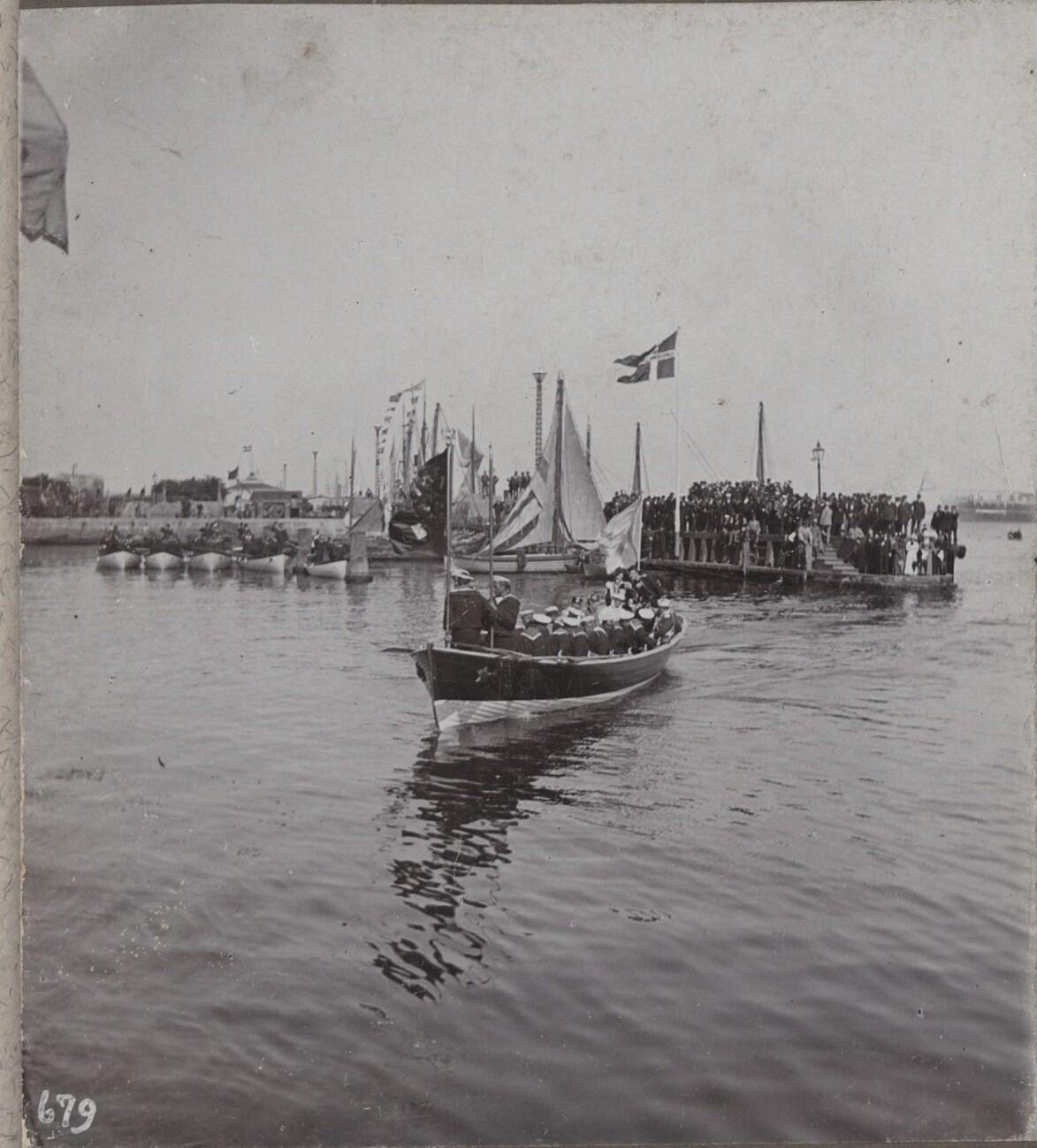 1896. Прибытие Императора Николая II в Копенгаген (1)