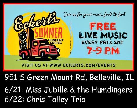 Eckert's Summer Concerts 6-21, 6-22-19