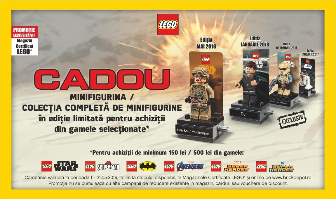 Cadou minifigurine LEGO® Star Wars™ pentru clientii VIP