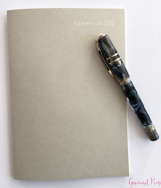 Graphilo Notebook Review & Fantastic Fountain Pen Friendly 2