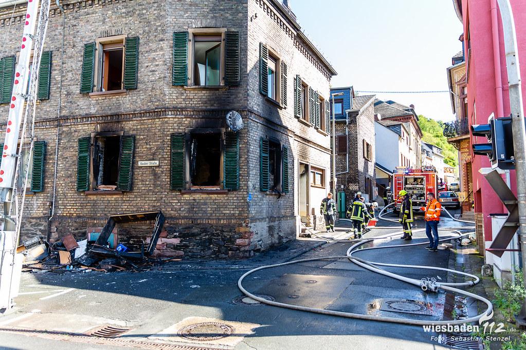 Gebäudebrand Lorchhausen 15.05.19