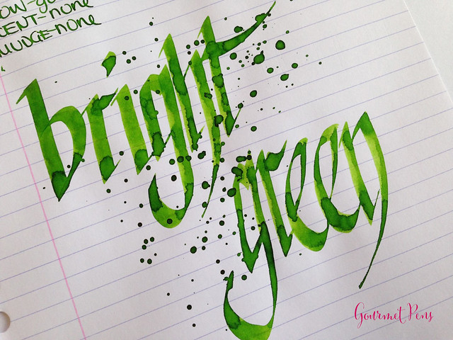 Toucan Bright Green Ink Review 6