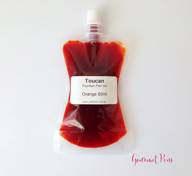 Toucan Orange Ink Review 8