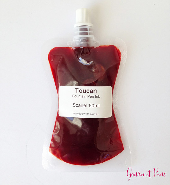 Toucan Scarlet Ink Review 8