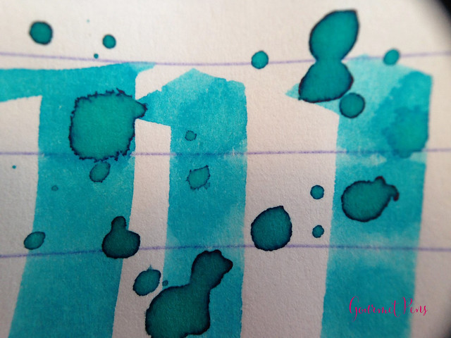 Toucan Turquoise Ink Review 7