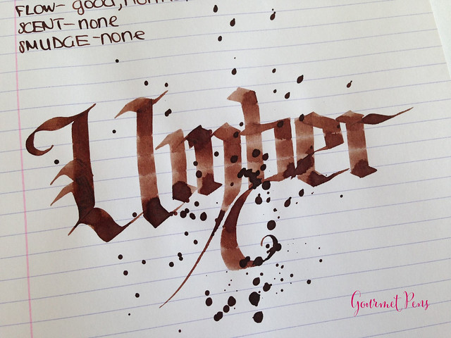Toucan Umber Ink Review 6