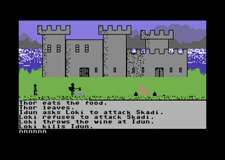 Valhalla (Commodore 64) | by Deep Fried Brains