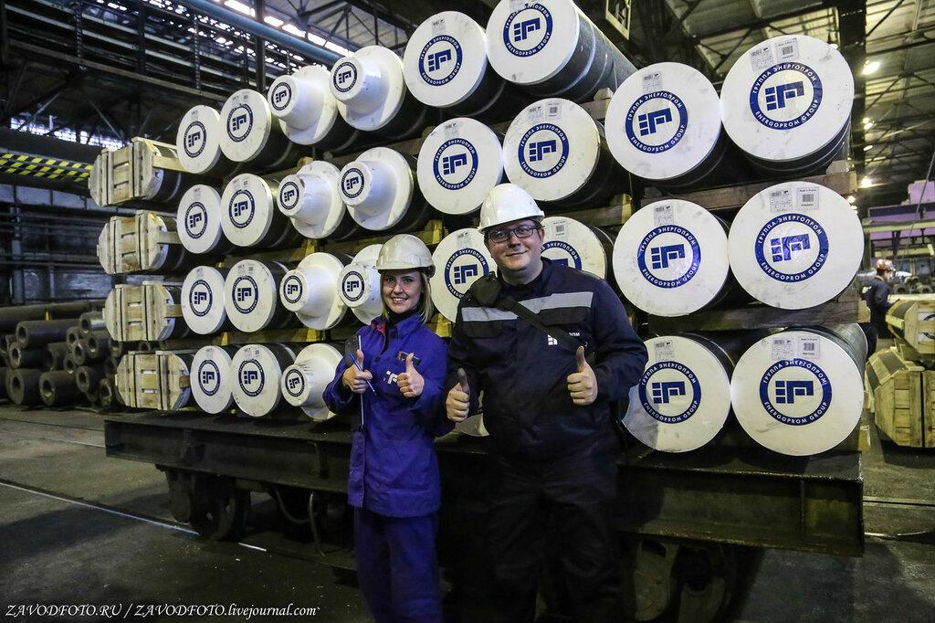 Великие заводы России: Новочеркасский электродный завод