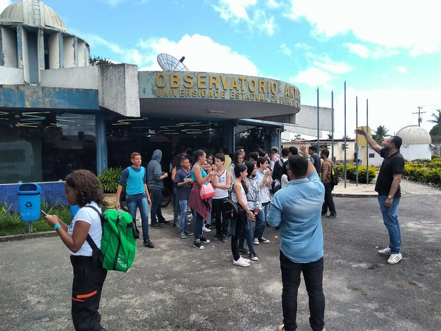 Aula de Campo – Observatório Antares