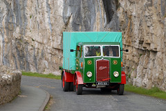 Longreach - Jonathan McDonnell posted a photo:	Foden OS 'WVS 901' makes its way around the Great Orme effortlessly.