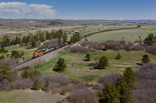 100ftagl bnsf6023castlerock coalempty coloradorailroads coloradotrains castlerock colorado unitedstatesofamerica
