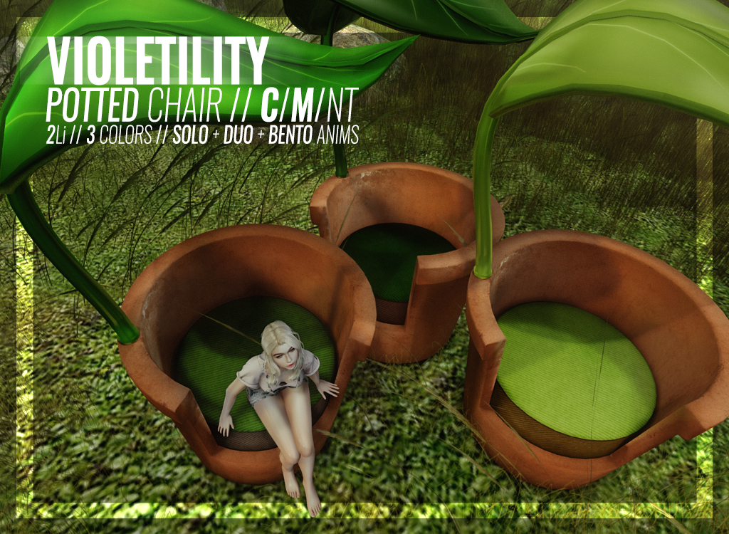 Violetility – Potted Chair