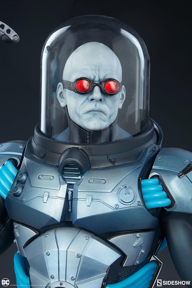 這個急凍人看起來好強!! Sideshow Collectibles Premium Format Figure DC Comics【急凍人】Mr. Freeze 1/4 比例全身雕像作品 普通版/EX版