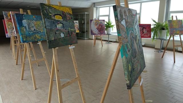 A.Juškevičiaus tapybos darbų paroda
