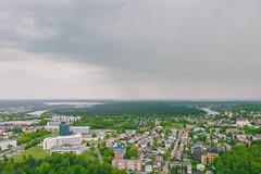 Cloudy day | Kaunas aerial