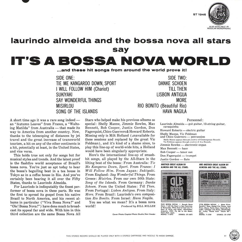 Laurindo Almeida - It's A Bossa Nova World