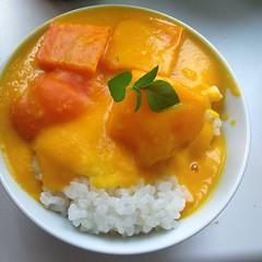 (vegan) sweet curry