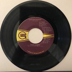 RICK JAMES:MARY JANE(RECORD SIDE-B)