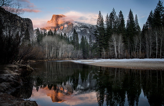Evening light at Yosemite