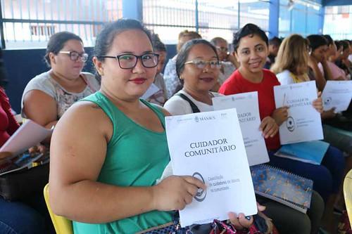 16.05.19.Duas turmas de Cuidador Comunitário serão disponibilizadas pela Prefeitura de Manaus.