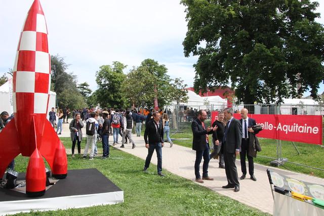 Nouveau Festival des Lycéens les 16 et 17 mai 2019 au Rocher de Palmer à Cenon