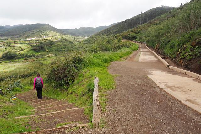 Wheelchair path, Monte del Agua, Erjos, Tenerife