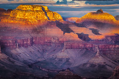 Grand Canyon by sunset