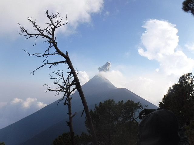 Fuego from Base Camp 1