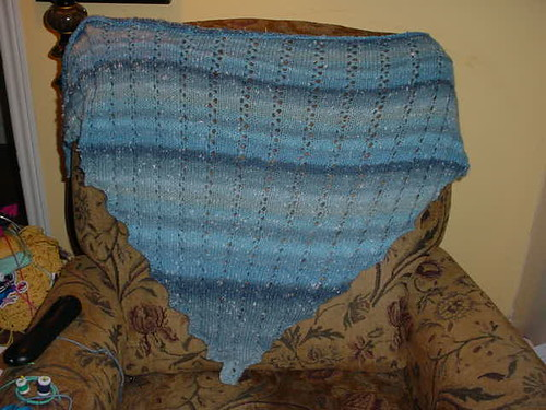 James C Brett shawl 3