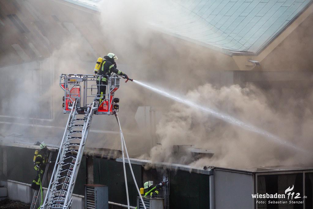 Großbrand Rheingoldhalle Mainz 16.05.19
