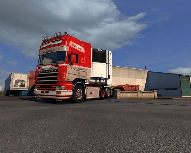 P. Bjarne Andersen Scania 164 480